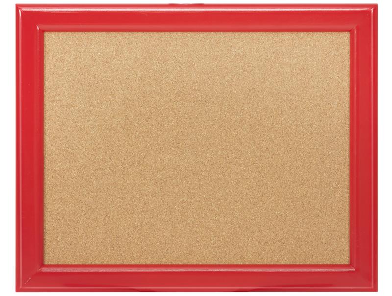 Pizarra corcho marco madera pintado arcovi - Pizarra corcho ...